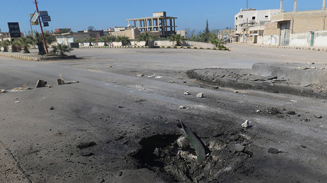 Idlib province, Syria, April 4, 2017 © Ammar Abdullah