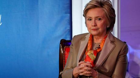 Former US Secretary of State Hillary Clinton © Brendan McDermid