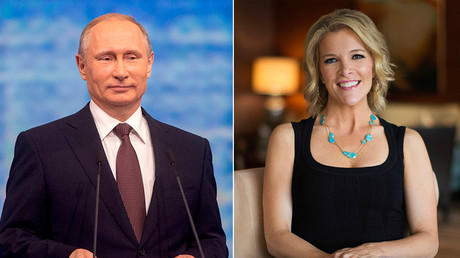 Russian President Vladimir Putin (L) and TV host Megyn Kelly © Sputnik / Reuters