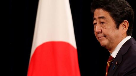 Japan's Prime Minister Shinzo Abe. ©Kham