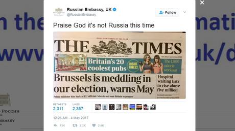© Russian Embassy, UK