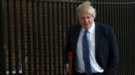 Britain's Foreign Secretary Boris Johnson © Neil Hall