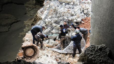 Al-Jineh in Aleppo province on March 17, 2017 © Omar Haj Kadour