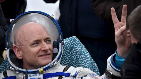 Astronaut shares footage of first steps on Earth after year in space (VIDEO)