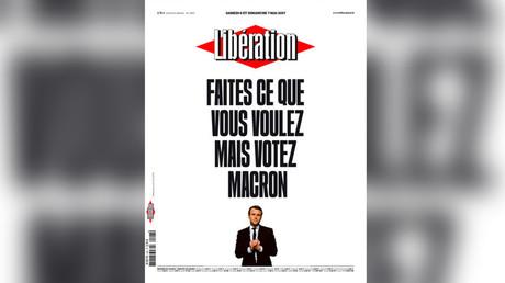 Screenshot from liberation.fr