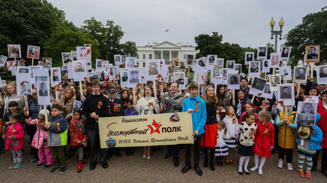 590f42cec4618873068b4619 'Immortal regiment' marches across world (PHOTOS, VIDEO)