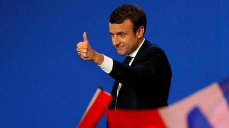 Emmanuel Macron © Philippe Wojazer