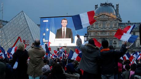 President Elect Emmanuel Macron © Jean-Paul Pelissier