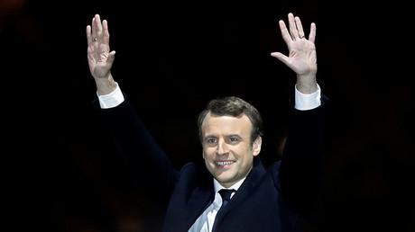 French President-elect Emmanuel Macron. ©Christian Hartmann