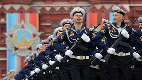 Grand V-Day parade in Moscow