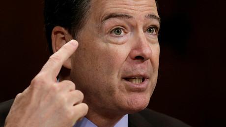 Former FBI Director James Comey © Kevin Lamarque