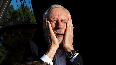 Jeremy Corbyn, leader of Britain's opposition Labour Party. © Phil Noble