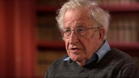 Noam Chomsky © BBC Newsnight