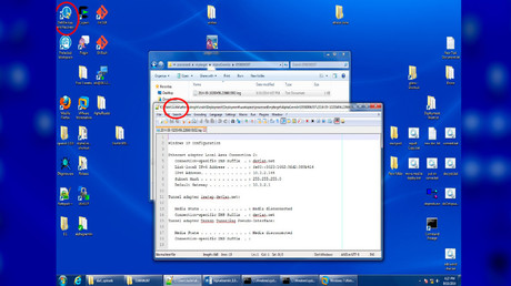 A screenshot contained in the leak shows evidence of a Dell machine being used by a user named 'Justin.'