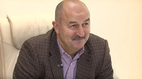 Stanislav Cherchesov, Russian national team head coach © RT