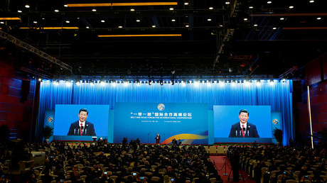 The opening ceremony of the Belt and Road Forum in Beijing, China, May 14, 2017 © Thomas Peter