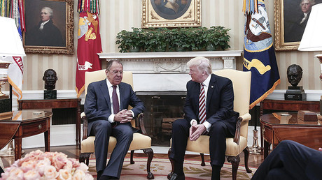 US President Donald Trump and Russian Foreign Minister Sergey Lavrov © Russian Foreign Ministry