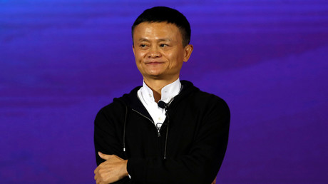 Founder and Executive Chairman of Alibaba Group Jack Ma © Bobby Yip