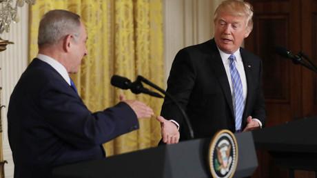 U.S. President Donald Trump and Israeli Prime Minister Benjamin Netanyahu © Carlos Barria