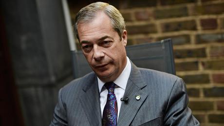Nigel Farage, former leader of UKIP and anti-EU campaigner © Dylan Martinez