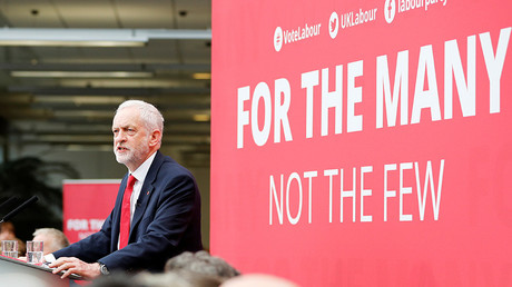 Jeremy Corbyn, the leader of Britain's opposition Labour Party © Darren Staples