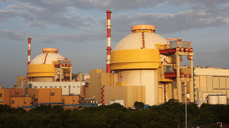 India's Kudankulam nuclear power project in the southern Indian state of Tamil Nadu © Pallava Bagla / Getty Images
