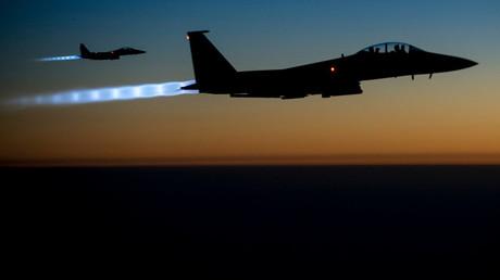 FILE PHOTO: A pair of U.S. Air Force F-15E Strike Eagles © U.S. Air Force