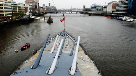 The forward deck of HMS Belfast © Luke MacGregor