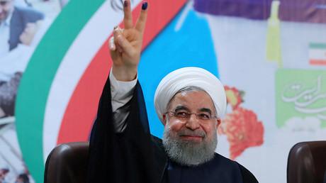 Iran's President Hassan Rouhani ©  President.ir/