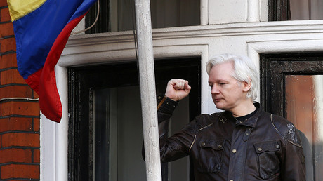 WikiLeaks founder Julian Assange, Britain, May 19, 2017. © Neil Hall