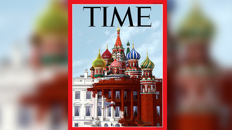Sorry, Time, but Putin doesn't work in a cathedral