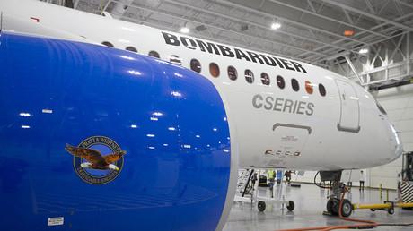 Bombardier's CS300 Aircraft ©Christinne Muschi