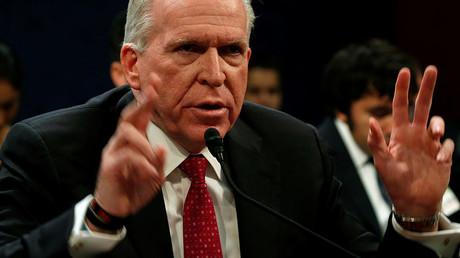Former CIA Director John Brennan tesifies on Capitol Hill in Washington, May 23, 2017 © Kevin Lamarque
