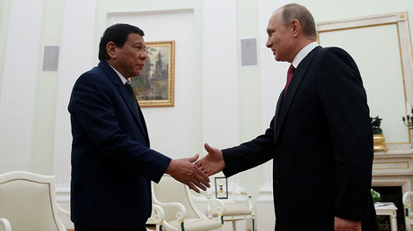 'We need modern weapons': Duterte meets Putin, cuts trip short over Philippines terrorist crisis