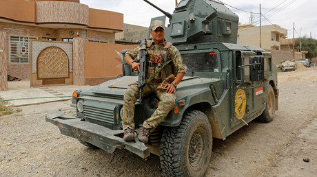 FILE PHOTO A member of Iraqi Emergency Response Division force © Danish Siddiqui