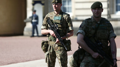 5926a93ac4618819378b45d2 Army sent to college in Trafford area of Manchester, roads closed – police
