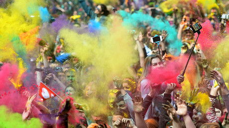 Siberian diocese calls for boycott of 'Satanic' Holi Festival of Colors