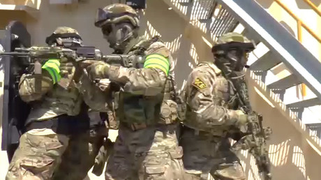 Divers, drones & helicopters: Massive FSB drills begin in Crimea (VIDEO)