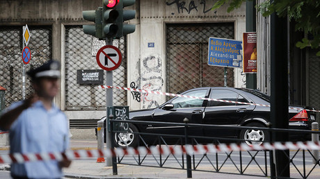 Former Greek PM Lucas Papademos hurt in Athens bomb attack