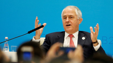 Malcolm Turnbull  © Aly Song