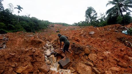 Scores dead or missing in Sri Lanka mudslides, floods