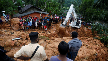Death toll reaches 100 as Sri Lanka hit by 'worst' flooding in over a decade