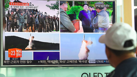 Pyongyang's short-range ballistic missile flies 450 km, lands in Sea of Japan – S. Korean military