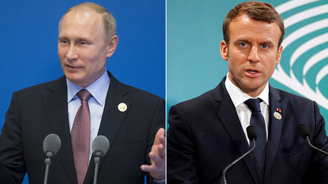 Putin, Macron to meet in Versailles on 300th anniversary of Tsar Peter's visit to France