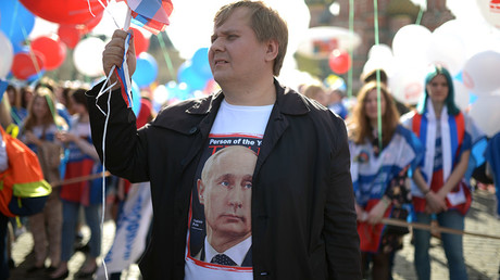 Support for Putin in Russia hits new high – poll