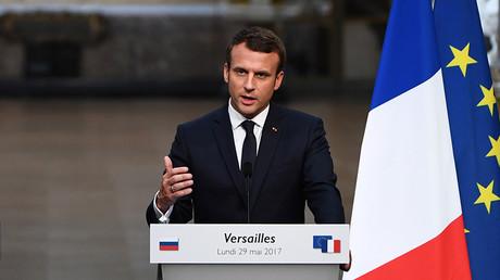 Macron accuses RT and Sputnik of 'behaving like deceitful propaganda'