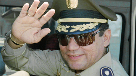 Image result for Manuel Noriega, the Panamanian military dictator