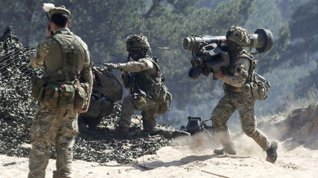 FILE PHOTO: British Ghurkas attend the multinational NATO exercises, Latvia. © Ints Kalnins