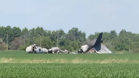 1 serviceman dead, 5 injured in military plane crash in Russia's Saratov region