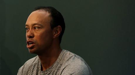 Golfer Tiger Woods. ©Mike Segar
